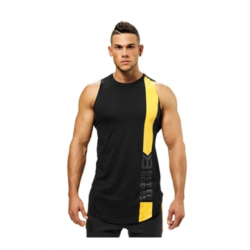 Better Bodies Stanton Tank (Wash Black)