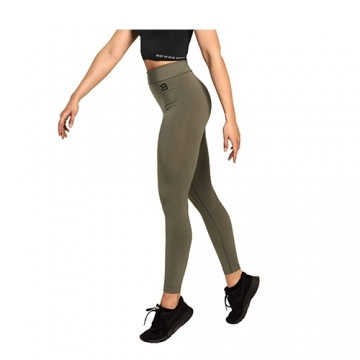 Better Bodies Rockaway Tights (Wash Green)