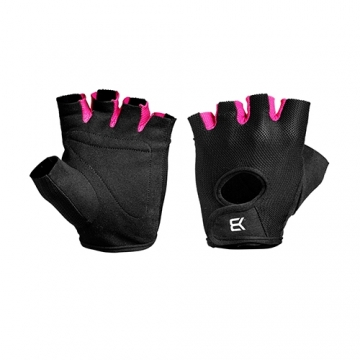 Better Bodies Womens train gloves (Black/Pink)