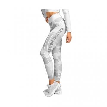 Better Bodies Camo High Tights (White Camo)