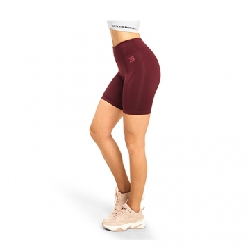 Better Bodies Chrystie Shorts (Deep Maroon)