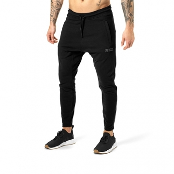 Better Bodies Harlem Zip Pants (Black)