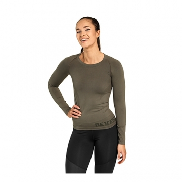Better Bodies Nolita Seamless LS (Wash Green)