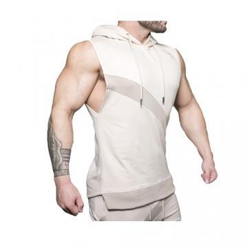 Body Engineers Neri Sleeveless Sweater (Beige)