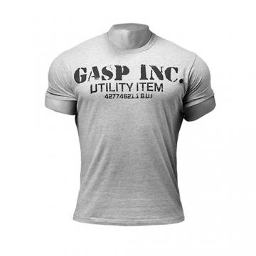 GASP Basic Utility Tee (Grey Melange)
