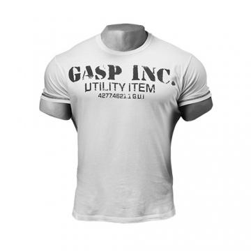 GASP Basic Utility Tee (White)