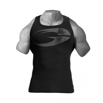 GASP Original Ribbed Tank (Black)