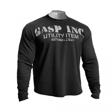 GASP Thermal Gym Sweater (Asphalt)