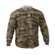 GASP Thermal Gym Sweater (Green Camo)