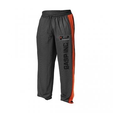 GASP No1 Mesh Pants (Black/Flame)