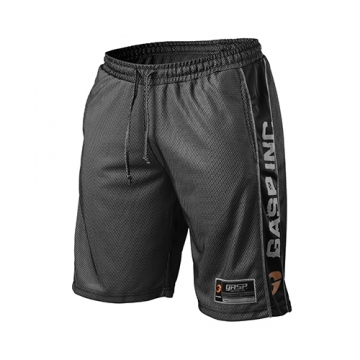 GASP No1 Mesh Shorts (Black)