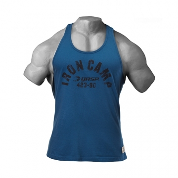 GASP Throwback Tank (Ocean Blue)