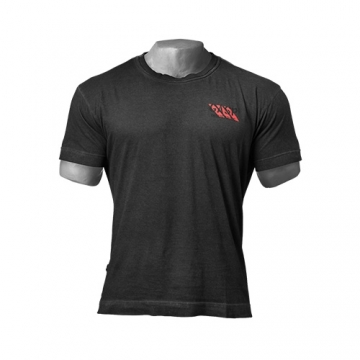 GASP Standard Issue Tee (Wash Black)