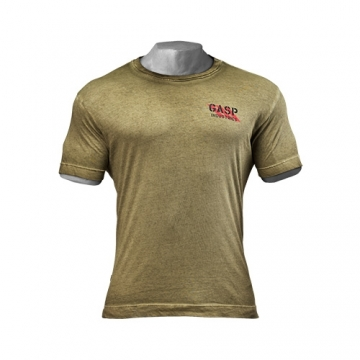 GASP Standard Issue Tee (Military Olive)