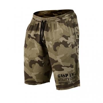 GASP Thermal Shorts (Green Camo)