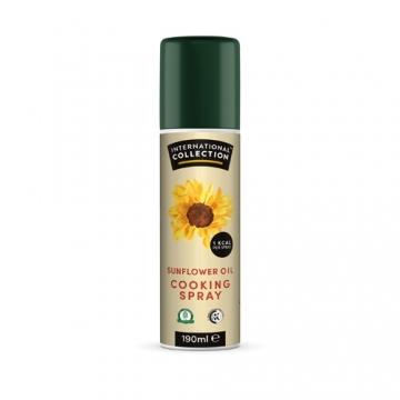 International Collection Cooking Spray Sunflower (190ml)