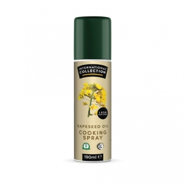 International Collection Cooking Spray Rapeseed (190ml)
