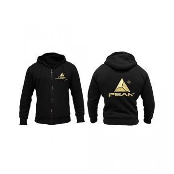 Peak Sportswear Hoodie - PEAK (Black/Gold)