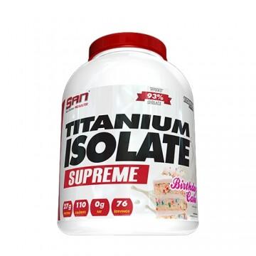 San Titanium Isolate Supreme 5.0 (5lbs)