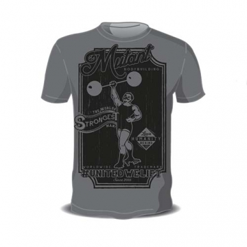Mutant Sportswear Vintage Mutant Bodybuilding Tee (Grey)
