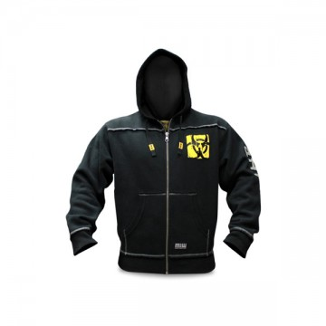 Mutant Sportswear Premium Zip-Up Hoodie (Black)