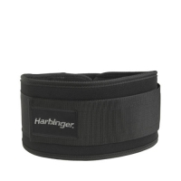 Harbinger 5 Inch Foam Men core Nylon Belt Black