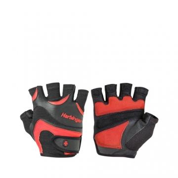 Harbinger Flexfit Men gloves Black/Red