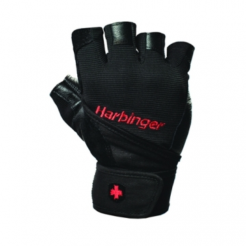 Harbinger Wristwrap Pro Men Gloves Black