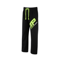 Musclepharm Sportswear Jog Pant Black Lime-Green (MPPNT451)