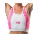 Musclepharm Sportswear Womens Crop Top Pink White