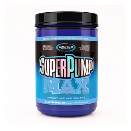 Gaspari Nutrition Super Pump MAX (640g)