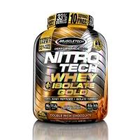 Muscletech Performance Series Nitro Tech Whey Plus Isolate Gold Bonus (4lbs)