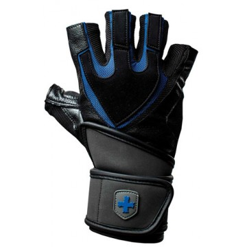 Harbinger Training Wristwrap Men Gloves Black/Blue
