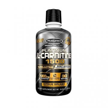Muscletech Essential Series Platinum 100 % L-Carnitine 1500 (30 serv)