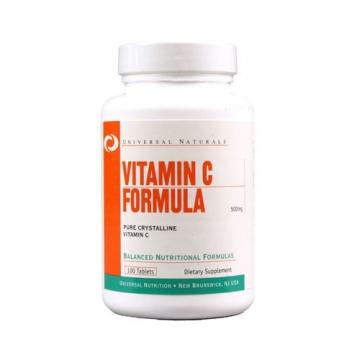 Universal Nutrition Vitamin C Formula 500mg