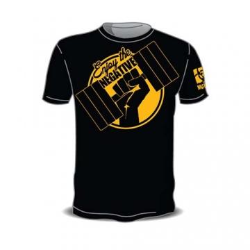 Mutant Sportswear Enjoy the Negative T-Shirt (Black)