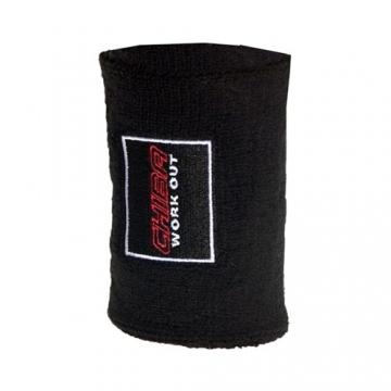 Chiba 40750 Frottee Sweatband (Black)