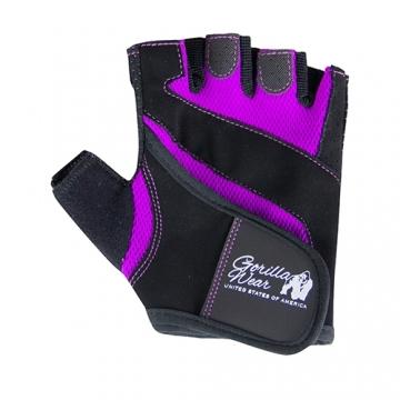 Gorilla Wear Fitness Gloves (Black/Purple)