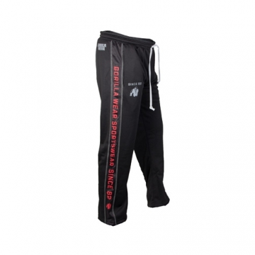 Gorilla Wear Functional Mesh Pants (Black/Red)
