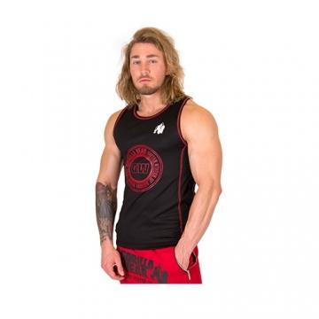 Gorilla Wear Kenwood Tank Top (Black/Red)