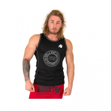 Gorilla Wear Kenwood Tank Top (Black/Silver)