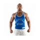 Gorilla Wear Logo Stringer Tank Top (Royal Blue)