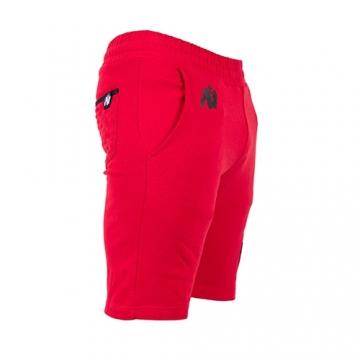 Gorilla Wear Los Angeles Sweat Shorts (Red)