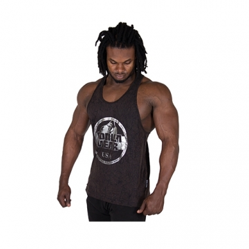 Gorilla Wear Mill Valley Tank Top (Black)