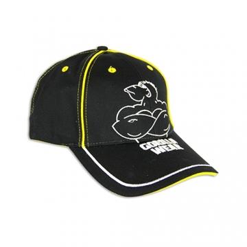 Gorilla Wear Muscle Monkey Cap (Black/Yellow)