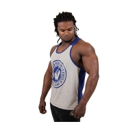 Gorilla Wear Roswell Tank Top (Gray/Royal Blue)