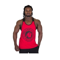 Gorilla Wear Roswell Tank Top (Red/Black)