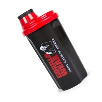 Gorilla Wear Shaker (Black/Red)