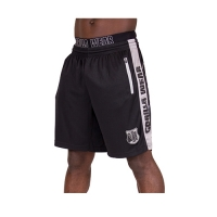 Gorilla Wear Shelby Shorts (Black/Gray)