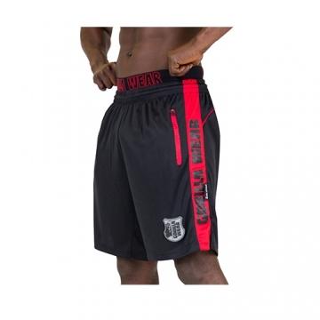 Gorilla Wear Shelby Shorts (Black/Red)